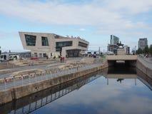De Veerboot Pier Head van Mersey in Liverpool Royalty-vrije Stock Fotografie