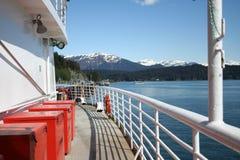 De Veerboot van Alaska stock foto's