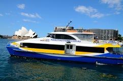 De veerboot van Australië Sydney Royalty-vrije Stock Foto's