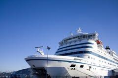 De veerboot van de auto en van de passagier royalty-vrije stock afbeelding