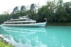 De veerboot van de cruise Stock Foto