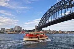 De Veerboot van de Haven van Sydney Stock Afbeeldingen