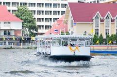 De veerboot van de passagier in Bangkok Stock Fotografie