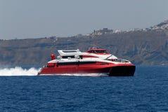De veerboot van de snelheid Stock Afbeelding