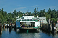 De Veerboot van de Staat van Washington royalty-vrije stock afbeeldingen