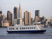 De Veerboot van de stad Stock Fotografie