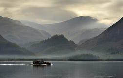 De veerboot van Derwentwater, Cumbria, Engeland Stock Fotografie