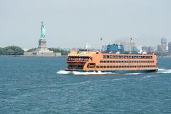 De Veerboot van het Eiland van Staten Stock Afbeelding