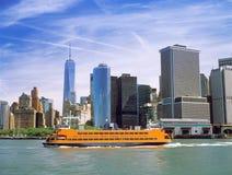 De Veerboot van het Eiland van Staten Royalty-vrije Stock Afbeeldingen