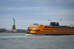 De Veerboot van het Eiland van Staten royalty-vrije stock afbeelding