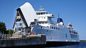 De Veerboot van het Manitoulineiland stock foto's