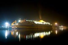 De veerboot van het voertuig stock afbeeldingen