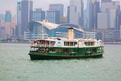 De Veerboot van Hongkong Stock Foto