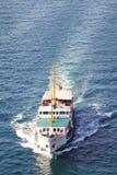De Veerboot van Istanboel in Bosporus Stock Afbeeldingen