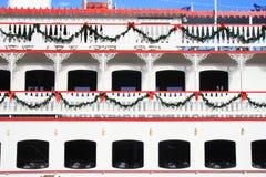De Veerboot van Kerstmis royalty-vrije stock foto's