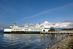 De veerboot van Mukilteo Royalty-vrije Stock Foto's