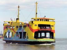 Penangveerboot, Maleisië royalty-vrije stock foto