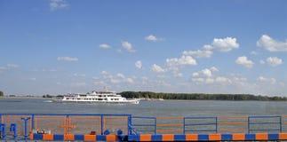 De veerboot van Roemenië - van Galati Donau Royalty-vrije Stock Afbeelding