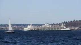 De veerboot van Seattle Stock Foto