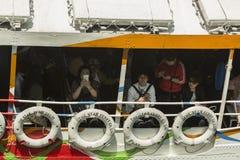 De Veerboot van de Ster van Hongkong stock afbeeldingen