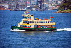 De Veerboot van Sydney Stock Foto's