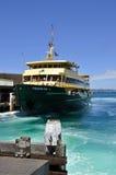 De veerboot van Sydney ZOETWATER royalty-vrije stock fotografie