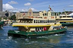 De veerbootvriendschap van Sydney Stock Foto