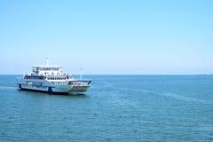 De veerbootzeilen Stock Afbeelding