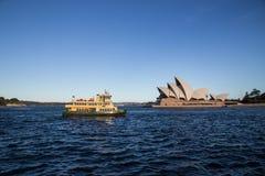 De veerboten van Sydney Stock Afbeelding