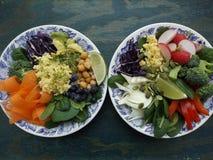 De vegetarische kom van Boedha Royalty-vrije Stock Afbeeldingen