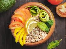 De vegetarische kom van Boedha Royalty-vrije Stock Foto