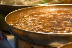 De vegetarische soep van Chaina Royalty-vrije Stock Afbeeldingen