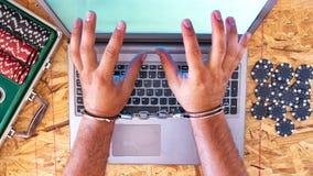 De veiligheid en de gegevensbeveiliging van Internet royalty-vrije stock afbeelding