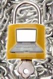 De veiligheid van de computer royalty-vrije stock foto's