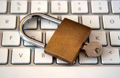 De Veiligheid van de computer Royalty-vrije Stock Afbeeldingen