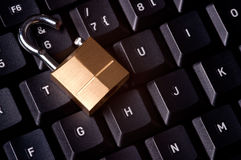 De Veiligheid van de computer Royalty-vrije Stock Fotografie