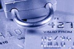 De Veiligheid van de Creditcard stock foto