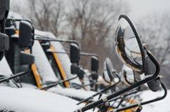 De veiligheid van de schoolbus Royalty-vrije Stock Foto