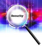 De veiligheid van gegevens vector illustratie