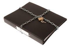 De Veiligheid van het dossier Royalty-vrije Stock Afbeeldingen