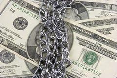 De Veiligheid van het geld Stock Afbeelding