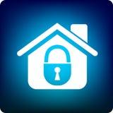 De veiligheid van het huis Stock Afbeelding