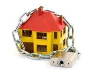 De veiligheid van het huis Stock Fotografie