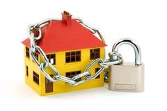 De veiligheid van het huis Stock Afbeeldingen