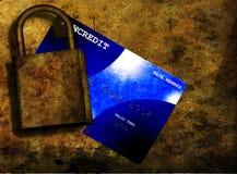 De Veiligheid van het krediet Stock Foto's