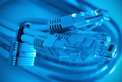 De veiligheid van het netwerk Stock Fotografie