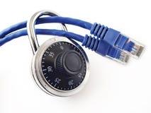 De Veiligheid van het netwerk stock foto's