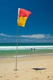 De Veiligheid van het strand Stock Foto