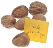 De Veiligheid van het voedsel stock afbeeldingen