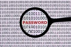 De veiligheid van het wachtwoord royalty-vrije stock afbeelding